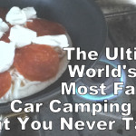 How To Make Car Camping Pizza The Easy Way