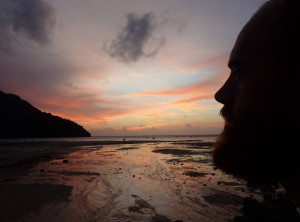 Jake Anderson Sunset in Thailand