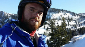 Jake Anderson of Hobo Hammocks with Snow Mountains
