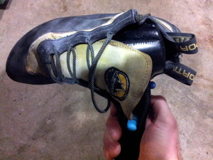 Hair Dryer Method To Rid Your Climbing Shoes of Foot Odor