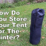 How To Store Your Tent For The Winter