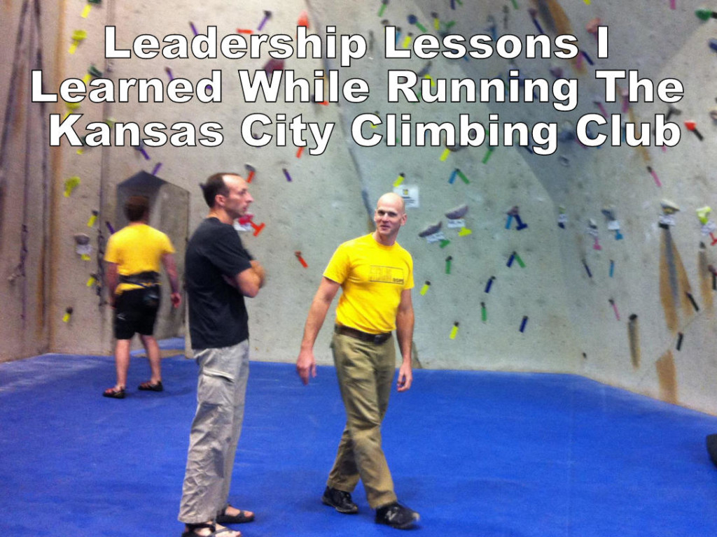Lessons I Learned While Running The Kansas City Climbing Club