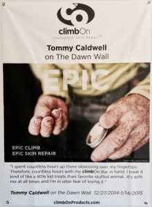 Tommy Caldwell Used ClimbOn Dawn Wall Ascent