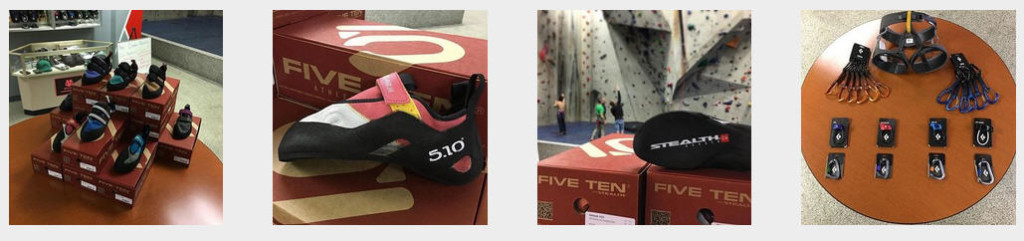 The Pro Shop at Ibex Climbing Gym