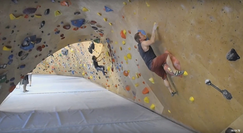 Cory Hanson at The Bloc Climbing and Fitness